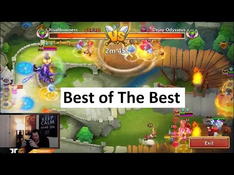 JT's Main Top 10 Arena INSANE FIghts Tons Of Fun Castle Clash