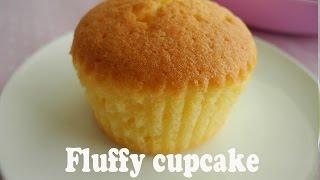 How to make fluffy cupcakes 「基本のカップケーキの作り方」 thumbnail