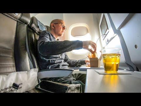 Icelandair 767-300ER Economy Class SFO-KEF