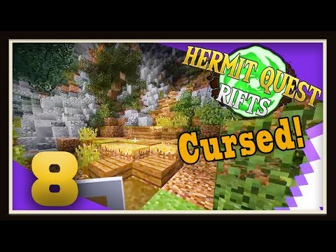 Hermit Quest Rifts Ep8 - Purple Thunder Cursed!
