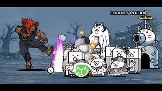 Battle Cats Street Fighter Collab   Akuma Deadly Stage NO UBER