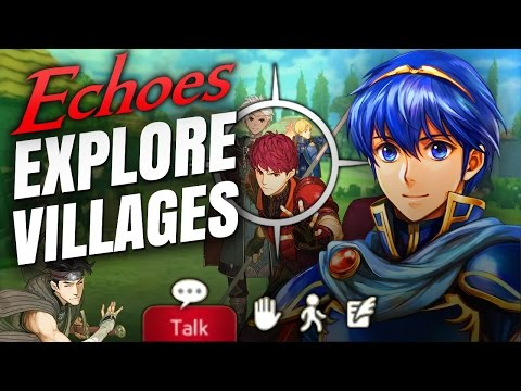 Village Exploration, New Prologue, Bosses, Stat growth increases & Marth in Fire Emblem Echoes