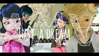 ADRIENETTE ( LUKA) Just A Dream AMV (Miraculous Ladybug)