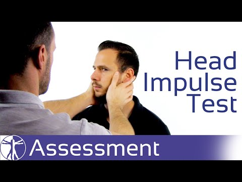Head Impulse Test | Peripheral Vestibular Dysfunction