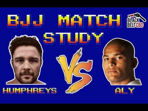 BJJ Match Study: Mahamed Aly Vs Tarsis Humphreys (Black Belt CBD Invitational)