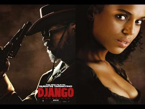 Jamie Foxx  says Kerry Washington made him cry | Django Unchained