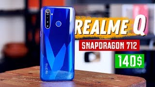 Обзор Realme 5 Pro - 140$ за Snapdragon 712! (Realme Q)