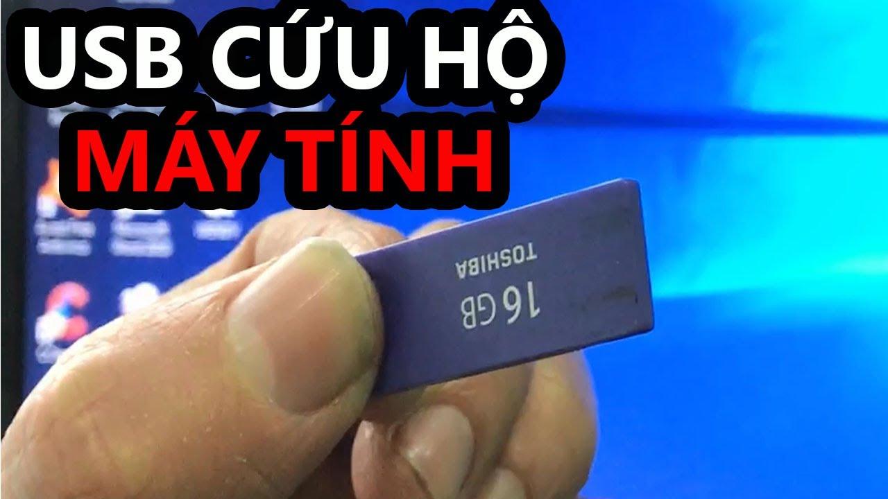 Cách tạo USB BOOT ĐA NĂNG dùng để cứu hộ máy tính