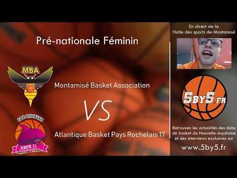 Pré-nationale Féminin : Montamisé - La Rochelle