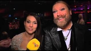 Rickard Söderberg och Elize Ryd gick inte vidare i Melodifestivalen