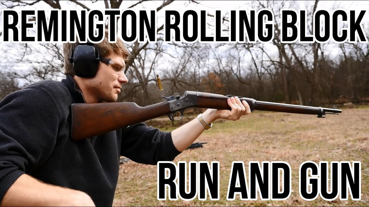Remington rolling block run and gun youtube voltagebd Image collections