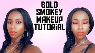 Bold Smokey Eyes MakeUp Tutorial/VlogsByAly 💖