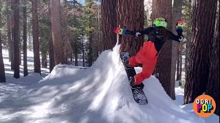 Tree Sessions #1 - This kid kills it on the snow. Tristam the Boarder.