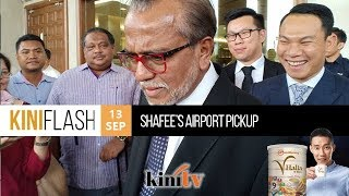 KiniFlash - 13 Sep: Shafee Abdullah arrested and charged