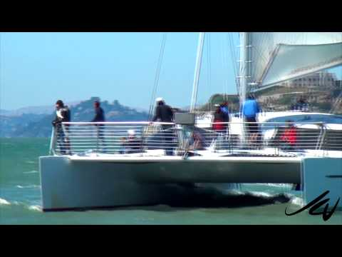 San Francisco California -  Pier 39 Sea Lions, Bay and start of Cable Car Tour  - YouTube