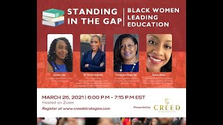 Standing in the Gap: Black Women Leading in Education
