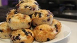 Vegan! Blueberry Muffins (recipe)