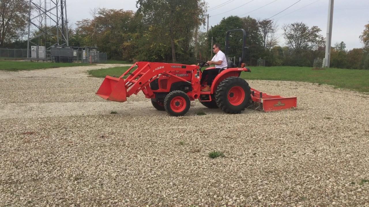 Landpride Grading Scraper GS1560 with Kubota