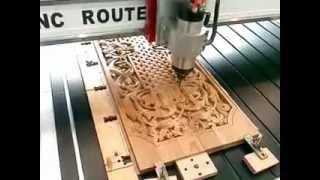 3D прорезная решетка на фрезерном станке с ЧПУ CNC-1318