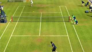 Virtua Tennis 2009: Federer vs Murray