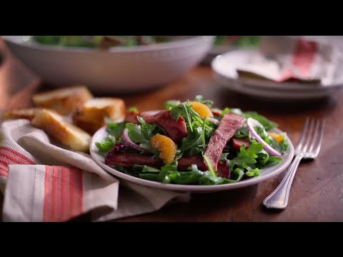 Boar's Head SmokeMaster® Black Forest Ham & Arugula Salad
