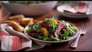 Black Forest Ham & Arugula Salad