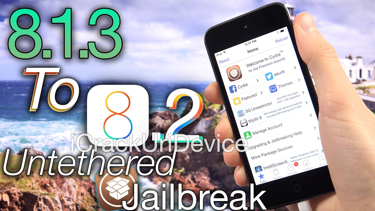 NEW 8.1.3 Jailbreak 8.2 Untethered TaiG iOS 8.2 Beta Update iPhone 6