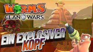 Worms Clan Wars 🐌 - Ein Explosiver Kopf