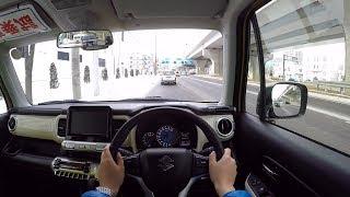 【Test Drive】 2018 New Suzuki XBEE Hybrid 4WD - POV City Drive