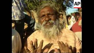 INDIA: GUJARAT STATE: EARTHQUAKE DISASTER: VILLAGES