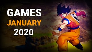 10 Upcoming Games Of January 2020 | Pc , Ps4 , Xbox One , Nintendo Switch