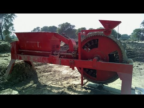 Clay Brick Machine Big Hopper detail video also with picture slide show