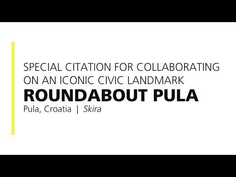 Roundabout Pula – 2018 Special Citation