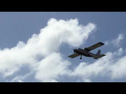 Trans Anguillan Airways Islander Touch-and-Go Clayton J. Lloyd International Airport Anguilla AXA
