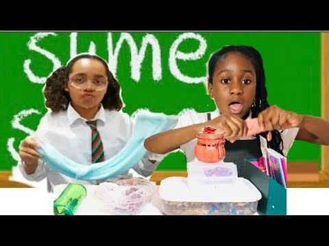 I Went To Tiana Slime School From Toys And Me Mixing All