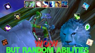 World of Warcraft but with random abilities  [ Project