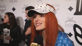 Why Bella Thorne Pours Beer on Her Hair (Exclusive)