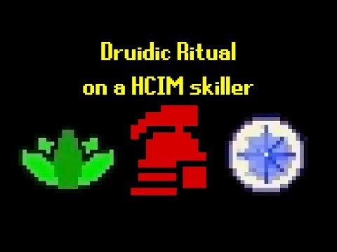 OSRS] Druidic Ritual on Hardcore Ironman Skiller - PakVim net HD