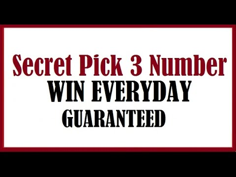 Pick 3 evening number results