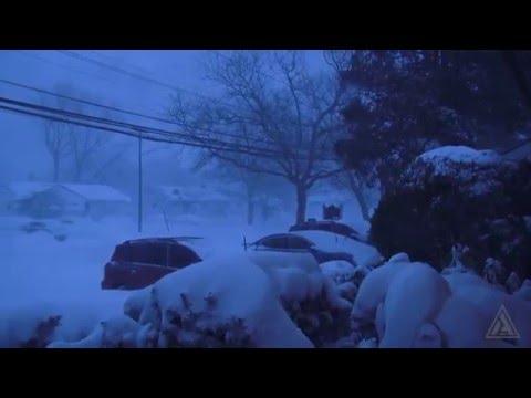 Snow Storm Blizzard - Long Island, New York 2016