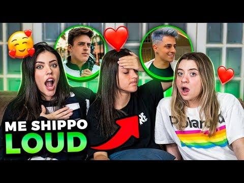 """DESCOBRIMOS UM NOVO SHIPP?! PRIMEIRO """"EU ME SHIPPO"""" DA LOUD!!"""