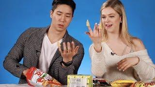 Feeding Kelsey Korean Snacks thumbnail