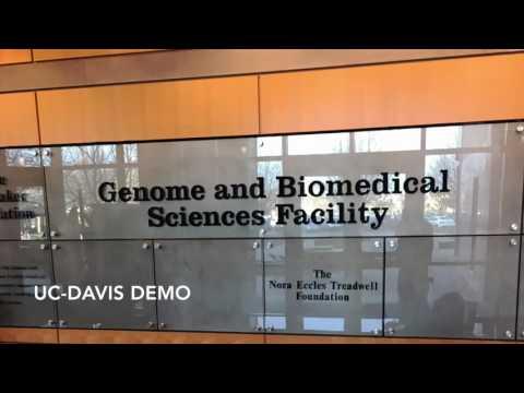 Phi Optics Demo at University of California - Davis