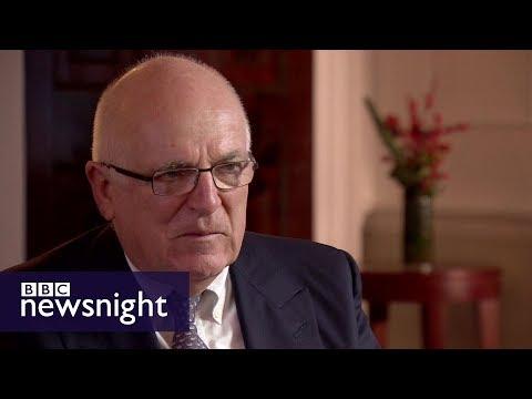 Former MI6 head Sir Richard Dearlove on Brexit, Trump and terrorism – BBC Newsnight