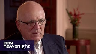 Former MI6 head Sir Richard Dearlove on Brexit, Trump and terrorism – BBC Newsnight
