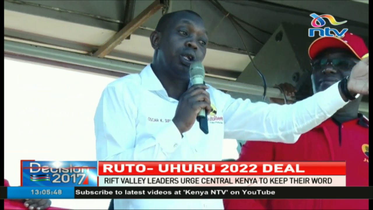 Rift Valley leaders urge Central Kenya to keep their word