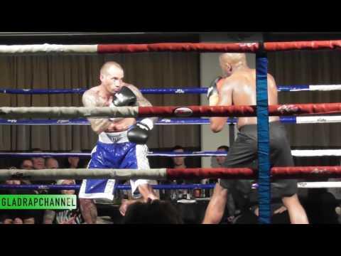 Mo Bashir vs Ben Nelson - Middleweights - Ellerslie Event Centre, August 2016