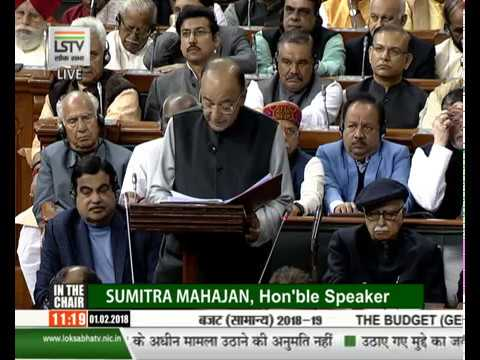 Finance Minister Arun Jaitley Presents Union Budget 2018