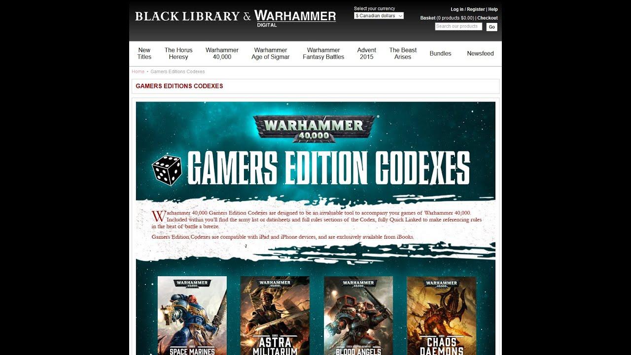 Warhammer 40k gamers edition bag | #429315149.