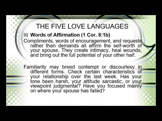 COUPLES FORUM 29/02/2020: TALK 1 - Love is What We Do!